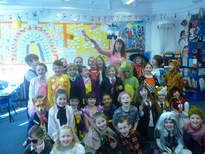 Miss Jury put a spell on them for the day!