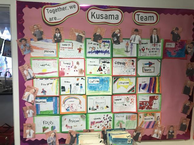 Kusama Team Flag