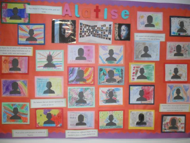 Alatise 'silhouette' class art display
