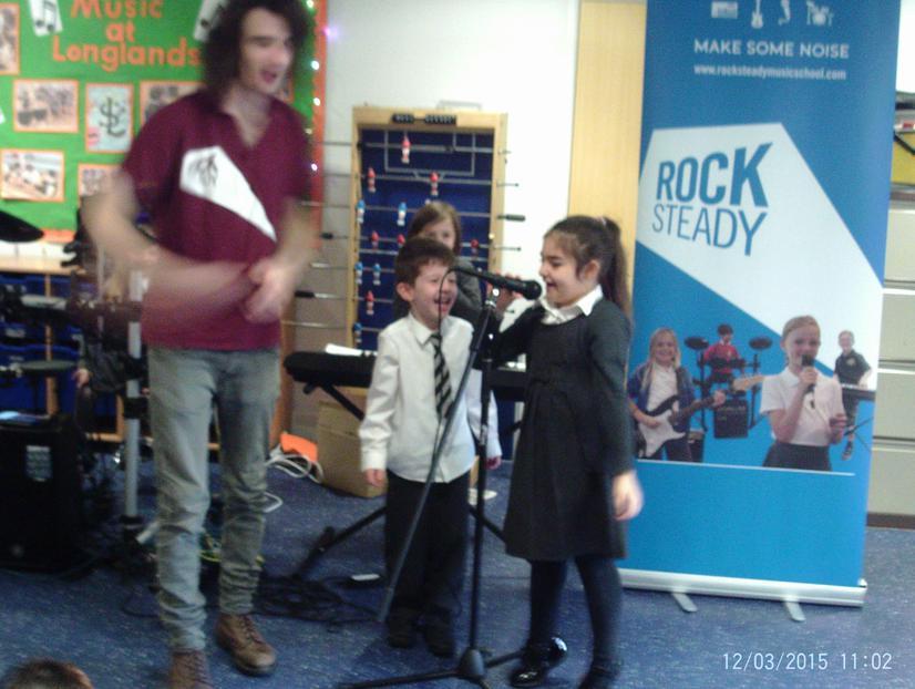 Tom and Ezra on vocals