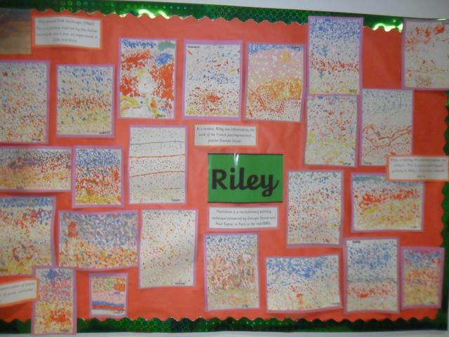Pointillism by Riley Class