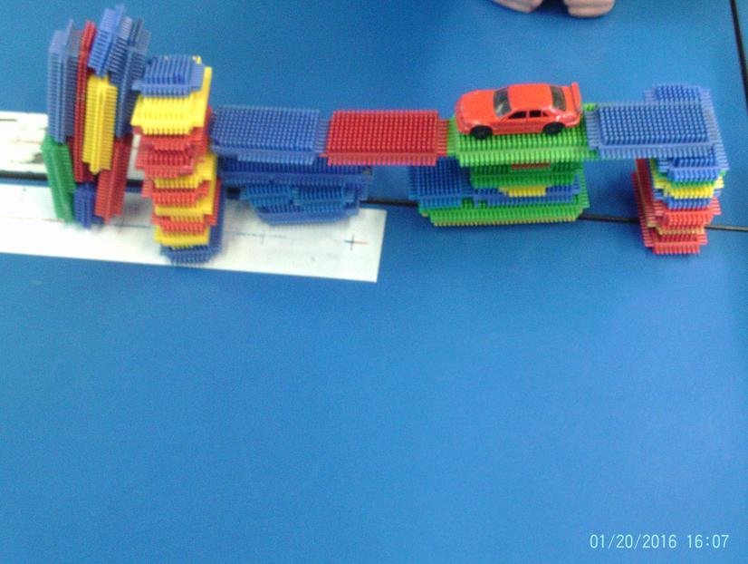 Our Stickle Brick Bridge