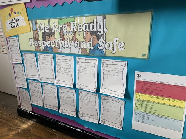 We are 'Ready, Respectful and Safe'