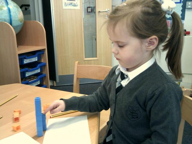 We have been writing our own number equations in Maths!
