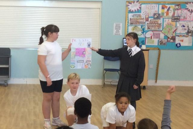 'The Active Kids' launch their fitness session.