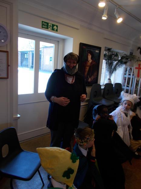 Mrs Svensen 'a knight'