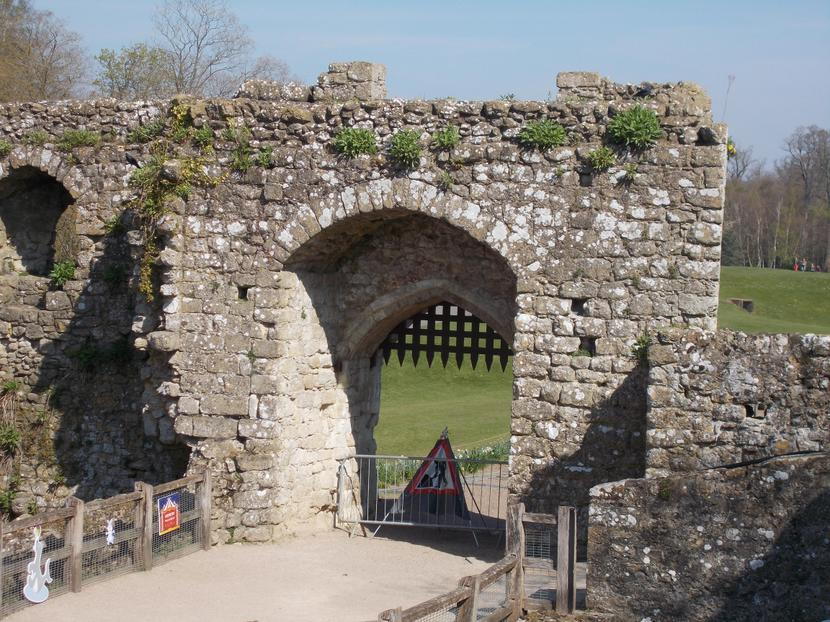 portcullis to keep out the enemy