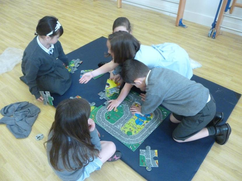 The Road Map Jigsaw!