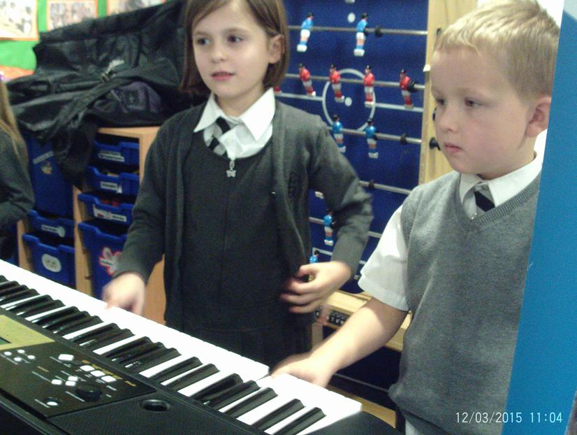 Our keyboard players
