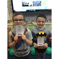 Silver Dojo Award Winners 31.1.20