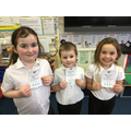 Gold Dojo Award winners 28.2.20