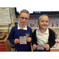 Gold Dojo award winners 29.11.19