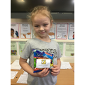 Pudsey Colouring Competition Winner 15.11.19