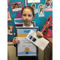Lily - forty ninth golden mathlete of 2020-21 14.5.21