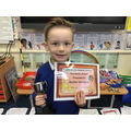 Reuben Maths Award Winner Autumn 2