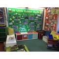 Reading & sensory area