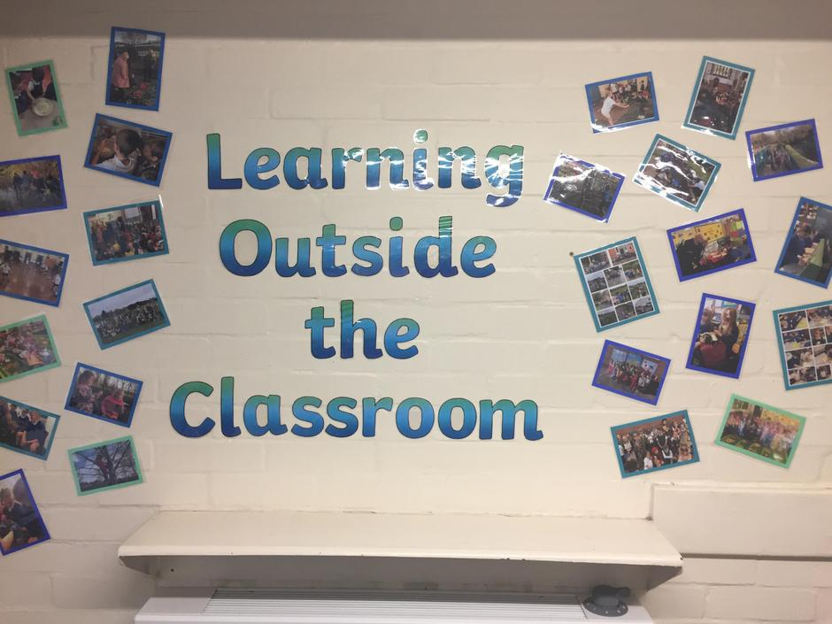 Learning Outside Display