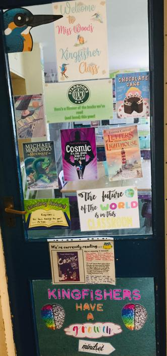 Love of Reading door for every classroom