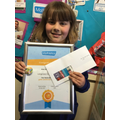 Ava-May - fifty second golden mathlete of 2020-21 21.5.21