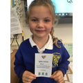 Evie's Bronze Award 18.10.19
