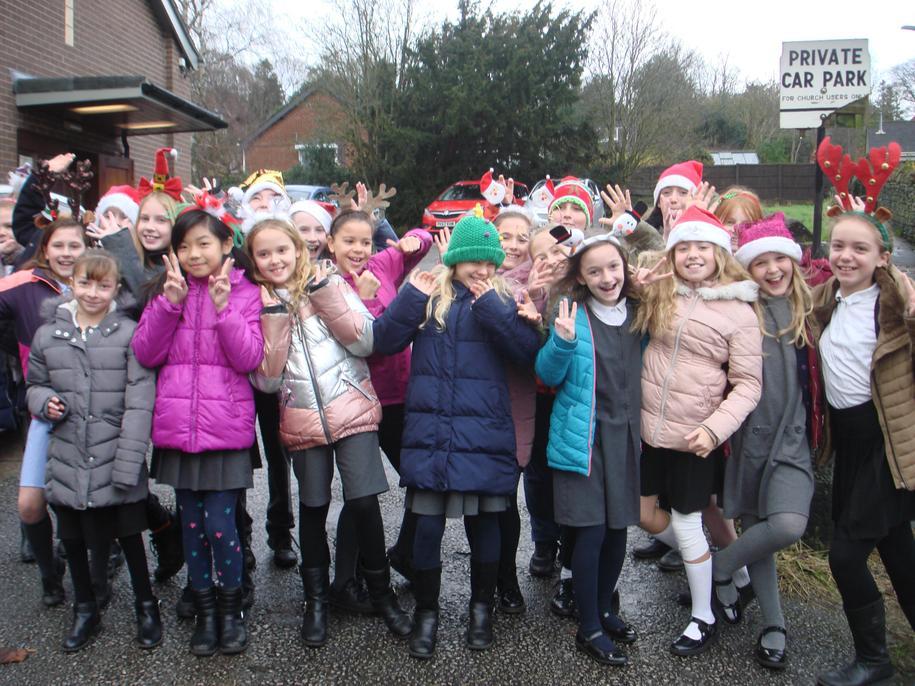 The Christmas Choir!