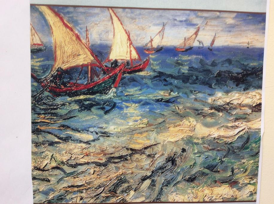 Van Gogh 'Seascape at Saint Marie'