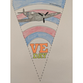 Harrison's VE day bunting