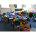 Classroom cleaning! (It's VERY tidy now)