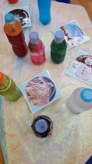Our sensory bottles