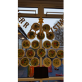 Our painted plate tree