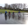 Cycle training in the cold and wet weather