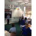 Pupils were acting out from George and the Dragon
