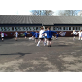 3L - Enjoying their P.E. lesson outside