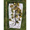 Bracken's rain-forest inspired Earth Day art