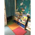 Reading area and calm corner