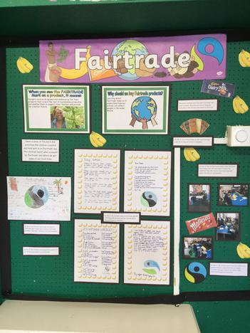 Fairtrade Day Display from May 2017