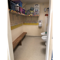 Cloakroom and toilets