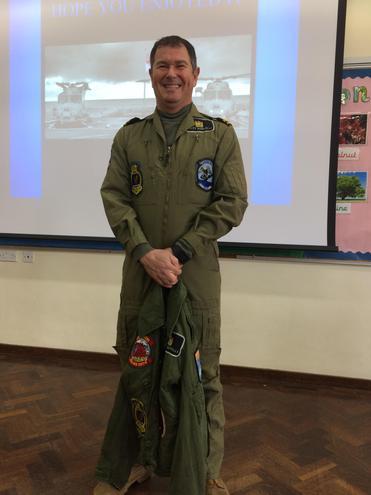 Mr Borrelli - Navy Helicopter Pilot