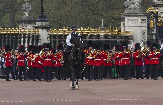 Mr Sturgess; Mounted Policeman