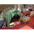 Each classroom has their own 'mini' library.