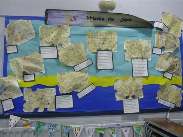 Making Treasure Maps - Year 3
