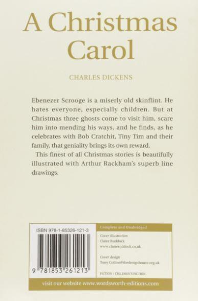 Christmas Carol - rear