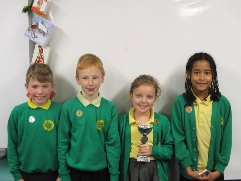 Well done to this week's 5P winners & runners up!