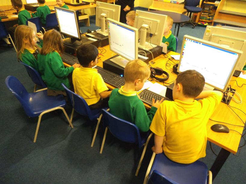We used 'Reading Eggs' in our I.C.T. suite.