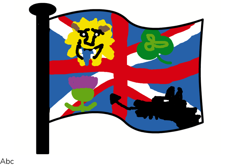 Edward's UK flag