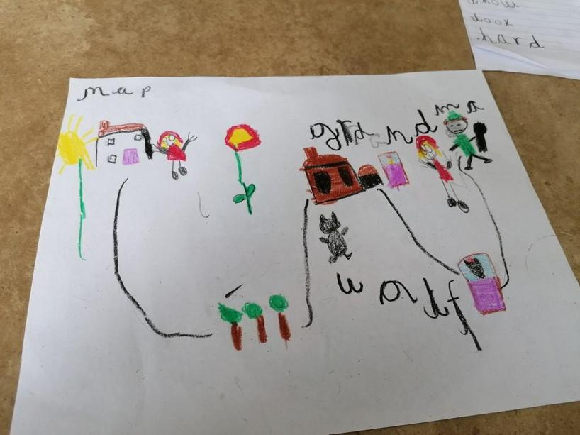 Look at Neiko's fantastic story map!