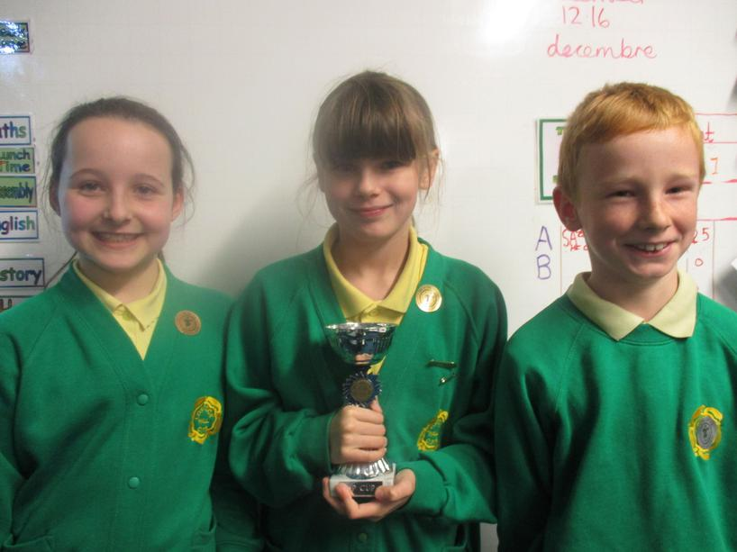 Well done to last week's 5P winners & runners up!