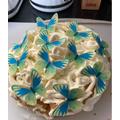 Benjamin's final cake! It looks delicious!
