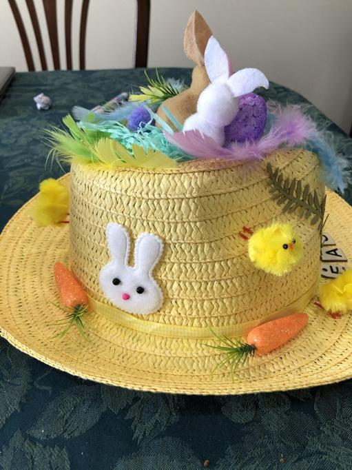 Amelia's hat 1