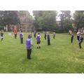 Fitness training for the knights